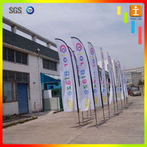 Four Colors Polyester Printed 2 Sided 15′ Feather Flag pictures & photos