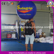 Beautiful Outdoor Inflatable Backpack Ball for Advertising