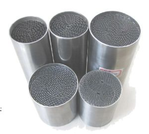 China Catalytic Converter Metal Honeycomb Substrate For