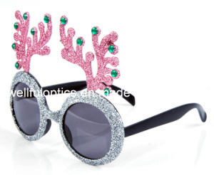Christmas Party Holiday Carnival Glass Frame Sunglasses