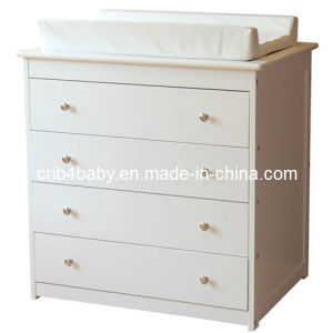 China Baby Wooden Drawer Chest Change Table China Chest Of