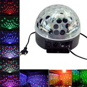 LED Magic Ball Light/Sound Control LED Crystal Magic Light pictures & photos