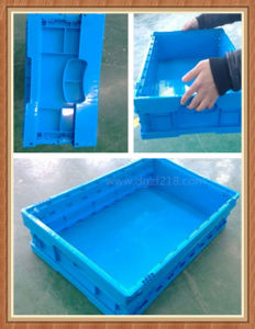High Quality Plastic Collapsible Folding Storage Container for Sale