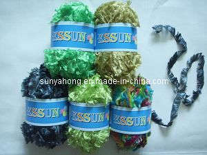 Polyester Feather Yarn for knitting scarf