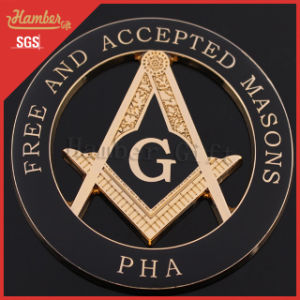 China Pha Masonic Car Emblems Symbols - China Masonic Car Emblems