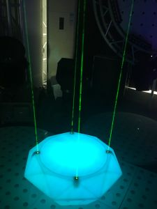 Newest Design Night Club Disco Bar LED Diamond Laser Stage Light Dance Floor pictures & photos