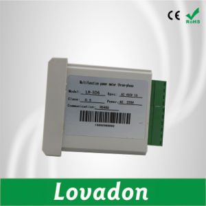 Lh-3D2y Three Phase Digital Multimeter LCD Display Power Smart Energy Meter pictures & photos