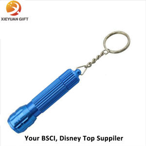 2015 Promotion Pockt Plastic LED Keychain Souvenir Made in China pictures & photos