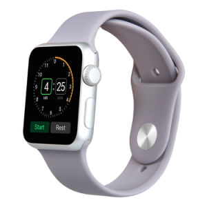 Soft Silicone Watch Band Strap for Apple Watch Strap Series 2 & 3 42mm/38mm