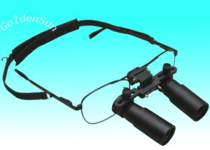 Portable Professional Surgical Dental Glasses Type Magnifier 4X for Dentist pictures & photos