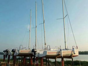 6.5m Racing Sailboat with Ce