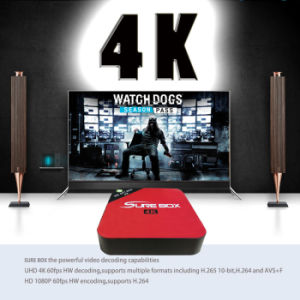 Android 6.0 System TV Box E6 Rk3229 Android TV Box 2+8GB Supported 4K*2K Video H. 265 Better Than V88 pictures & photos