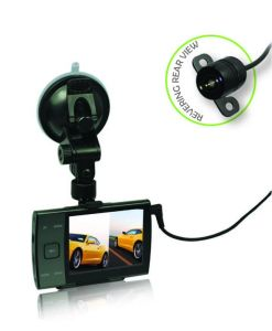 Rearview Camera 2 Channel 3.5 Inch 140 Degree Car Camera DVR