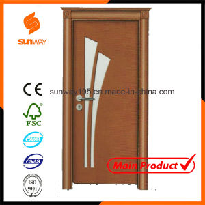 Hot Sale High Quality Interior PVC Wood Door Sw-887 pictures & photos