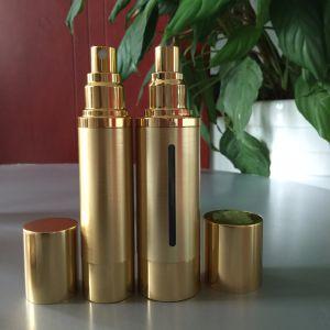 China 30ml 50ml 100ml Gold Airless Cosmetic Foam Pump