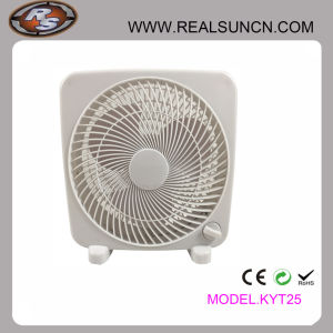 10 Inch Small Fan Square Shape Gray Office Special Practical