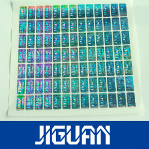 Custom Hot Stamping Hologram Foil (DC-SEC009) pictures & photos