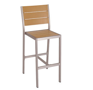 Modern Outdoor Polywood Bar Stool Chairs (PWC-313H) pictures & photos