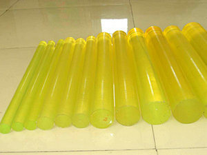 Polyurethane Rod, PU Rod with Yellow Color (3A2002) pictures & photos