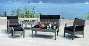 Mtc-133 Wicker Patio Furniture Rattan Sofa Set Kd pictures & photos
