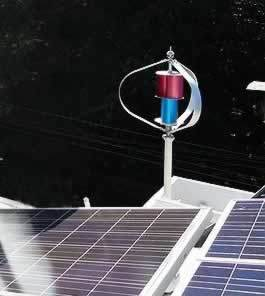 1000W48V Maglev Vertical Wind-Solar Generator for Home Use (200W-5kw) pictures & photos