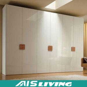 China Modern Design Mdf White Lacquer Wardrobe Closet