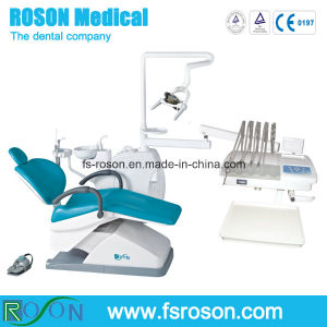 China up-Mounted Dental Chair with LED Dental Light