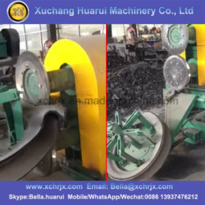 Fast Efficient Radial Tire Double Sidewall Cutter Machine pictures & photos