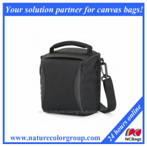 600d Polyester Shoulder Camera Bag-Black pictures & photos