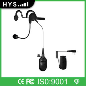 Wireless Bt Earphone for Two-Way Radio Tc-Bt07h