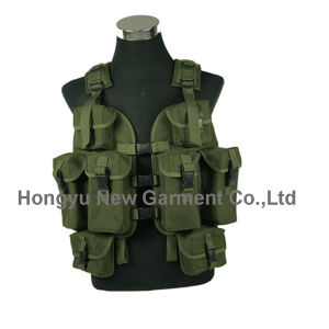Camping Outdoor Military Green Tactical Vest pictures & photos
