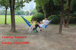 Garden/Outdoor Portable Fabric Rope Swinging/Hanging Travel Swing Camping Hammock