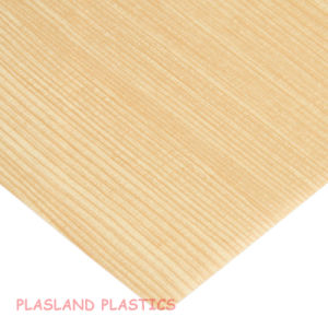 Vacuum Forming PVC Wood Sheet / PVC Wooden Grain Sheet pictures & photos