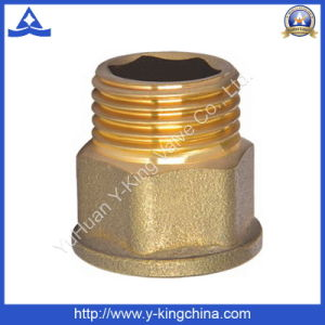 1/2 Brass Color Female Cap (YD-6010) pictures & photos