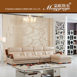 Groovy China New Design Genuine Leather Sofa With Wooden Arm 909 Forskolin Free Trial Chair Design Images Forskolin Free Trialorg