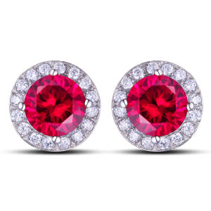 Stainless Steel Cubic Zircon Earring Stud pictures & photos