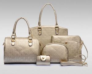 446d22710a China Best Prices Leather Bag Set 5PCS Ladies Designer Bags (XM086 ...