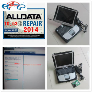 Alldata and Mitchell on Demand Auto Repair Software 1tb HDD + for Panasonic Toughbook CF19 Laptop