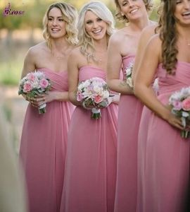 Simple Prom Party Cocktail Gown A-Line Chiffon Bridesmaid Evening Dress Z212 pictures & photos