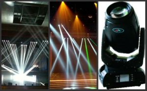 280W Beam and Spot and Washer Moving Head
