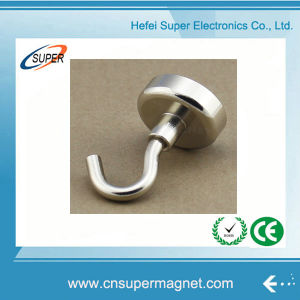 Strong High Magnetic Curtain Hook Magnet Hooks pictures & photos
