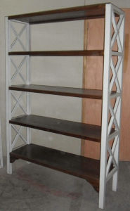 Chinese Wooden Simple Shelf Lwa508 pictures & photos