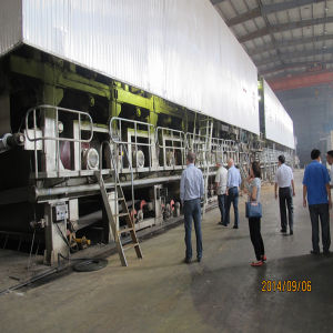 4300mm 180t/D Capacity Test Liner Board Making Machine
