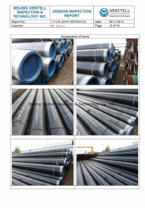 Pre-Shipment Inspection for Stainless Steel Pipe