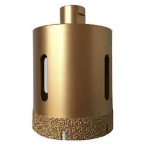 Better Drilling Performance Vacuum Brazed Diamond Core Drill Bit for Tiles, Ceramic, Percelain