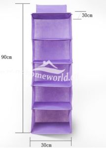 Hot Sell Fashion Non Woven Hanging Organizers