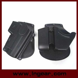 Quick Release Gun Holster Magazine Pouch Pistol Holster for P226 pictures & photos