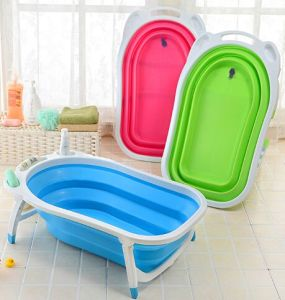 Portable Collapsible Baby Bath Tub