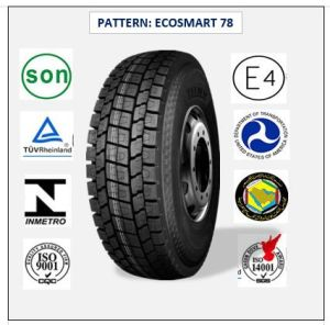 275/80r22.5 (ECOSMART 62) with Europe Certificate (ECE REACH LABEL) High Quality Truck & Bus Radial Tires pictures & photos
