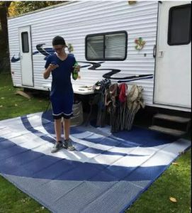 China Pp 9x12 Reversible Outdoor Mat Rv Trailer Camping Patio Rugs